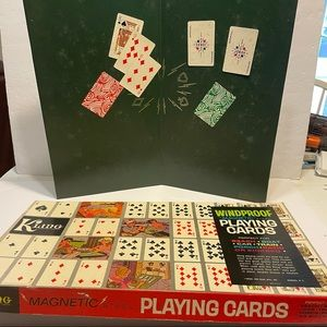 Kling Magnetic Windproof Playing Cards Game Board